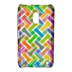 Abstract Pattern Colorful Wallpaper Nokia Lumia 620 by Amaryn4rt