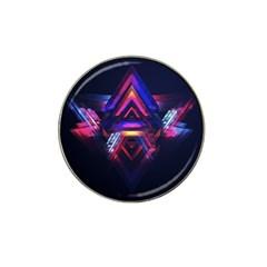 Abstract Desktop Backgrounds Hat Clip Ball Marker (4 Pack)