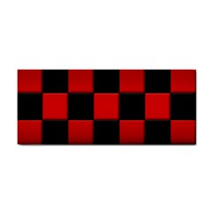 Black And Red Backgrounds Cosmetic Storage Cases