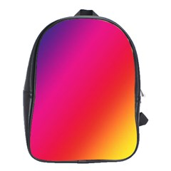 Rainbow Colors School Bags(large)  by Amaryn4rt