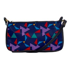 Areas Of Colour Square Relative Neutrality Shoulder Clutch Bags by Jojostore