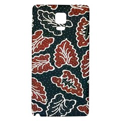 Batik Java Galaxy Note 4 Back Case by Jojostore