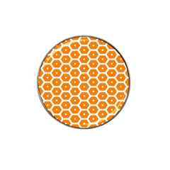 Golden Be Hive Pattern Hat Clip Ball Marker (10 Pack) by Amaryn4rt