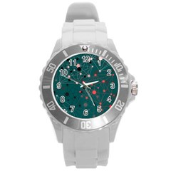 Pattern Seekers The Good The Bad And The Ugly Round Plastic Sport Watch (l)