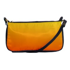 Rainbow Yellow Orange Background Shoulder Clutch Bags