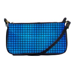 Seamless Blue Tiles Pattern Shoulder Clutch Bags by Amaryn4rt