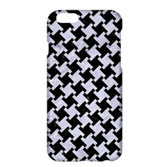 Houndstooth2 Black Marble & White Marble Apple Iphone 6 Plus/6s Plus Hardshell Case by trendistuff