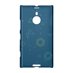 Geometric Debris In Space Blue Nokia Lumia 1520 by AnjaniArt