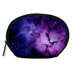 Purple Space Accessory Pouches (medium)  by Onesevenart