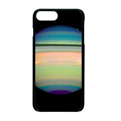 True Color Variety Of The Planet Saturn Apple Iphone 7 Plus Seamless Case (black) by Onesevenart