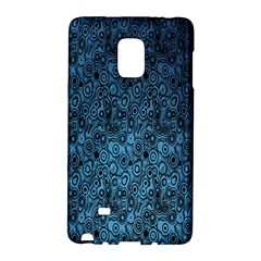 Blue Texture Galaxy Note Edge by AnjaniArt