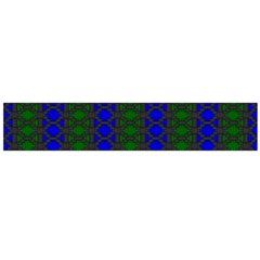 Diamond Alt Blue Green Woven Fabric Flano Scarf (large) by AnjaniArt