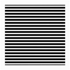 Horizontal Stripes Black Medium Glasses Cloth (2 Side)
