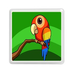 Parrots Pinterest Memory Card Reader (square)  by AnjaniArt
