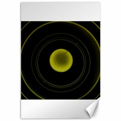 Abstract Futuristic Lights Dream Canvas 12  X 18   by Amaryn4rt