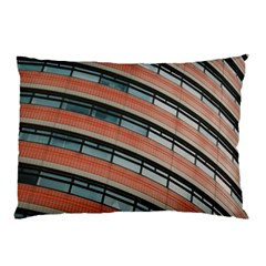 Architecture Building Glass Pattern Pillow Case (two Sides)