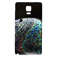 Bubble Iridescent Soap Bubble Galaxy Note 4 Back Case by Amaryn4rt