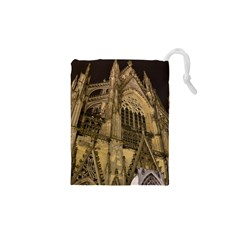 Cologne Church Evening Showplace Drawstring Pouches (xs)  by Amaryn4rt