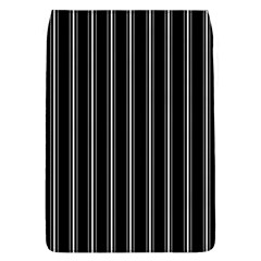 Black And White Lines Flap Covers (l)  by Valentinaart