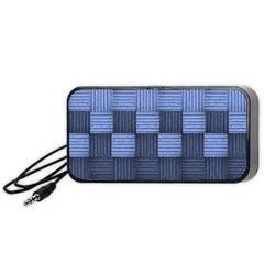 Texture Structure Surface Basket Portable Speaker (black)