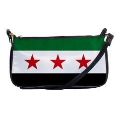 Flag Of Syria Shoulder Clutch Bags by abbeyz71