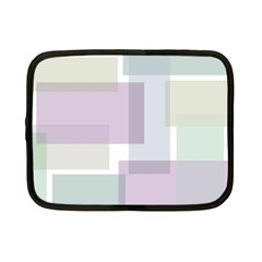 Abstract Background Pattern Design Netbook Case (small)