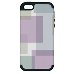 Abstract Background Pattern Design Apple Iphone 5 Hardshell Case (pc+silicone)