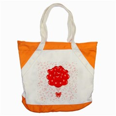 Abstract Background Balloon Accent Tote Bag