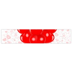 Abstract Background Balloon Flano Scarf (small)