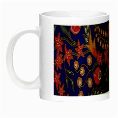 Batik Fabric Night Luminous Mugs by Jojostore