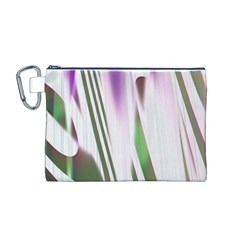 Colored Pattern Canvas Cosmetic Bag (M) by Nexatart