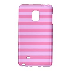 Fabric Baby Pink Shades Pale Galaxy Note Edge by Nexatart