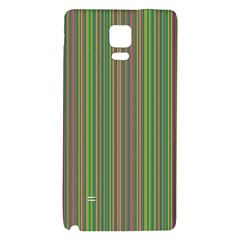 Green Lines Galaxy Note 4 Back Case by Valentinaart