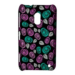Roses pattern Nokia Lumia 620 by Valentinaart