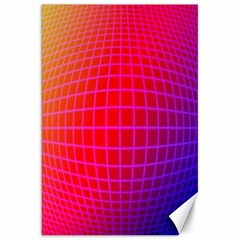 Grid Diamonds Figure Abstract Canvas 20  x 30   by Nexatart