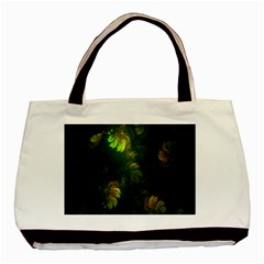 Light Fractal Plants Basic Tote Bag (two Sides) by Nexatart