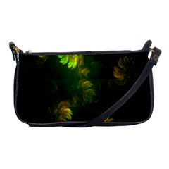 Light Fractal Plants Shoulder Clutch Bags