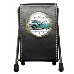 1958 Oldsmobile Super 88 J2 2a Pen Holder Desk Clocks by Jeannel1
