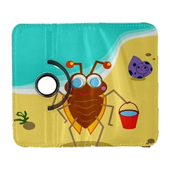Animal Nature Cartoon Bug Insect Galaxy S3 (flip/folio) by Nexatart