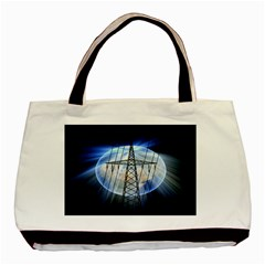 Energy Revolution Current Basic Tote Bag (two Sides) by Nexatart