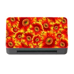 Gerbera Flowers Blossom Bloom Memory Card Reader With Cf by Nexatart