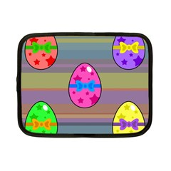 Holidays Occasions Easter Eggs Netbook Case (small)  by Nexatart