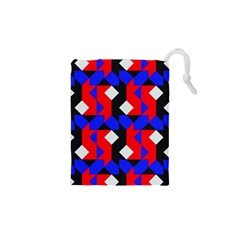 Pattern Abstract Artwork Drawstring Pouches (XS)  by Nexatart