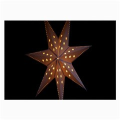 Star Light Decoration Atmosphere Large Glasses Cloth (2 Side) by Nexatart