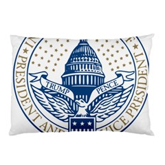 Presidential Inauguration Usa Republican President Trump Pence 2017 Logo Pillow Case (two Sides)
