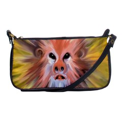 Monster Ghost Horror Face Shoulder Clutch Bags by Nexatart