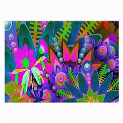 Abstract Digital Art  Large Glasses Cloth by Nexatart