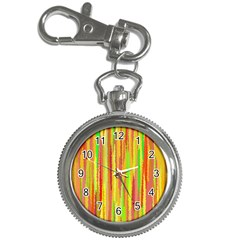 Paint Traces                                                 			key Chain Watch by LalyLauraFLM