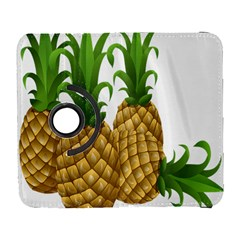 Pineapples Tropical Fruits Foods Galaxy S3 (flip/folio) by Nexatart