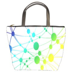 Network Connection Structure Knot Bucket Bags by Nexatart